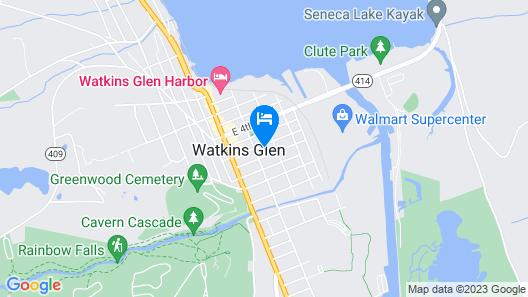 The Blackberry Inn Guest House Map