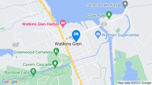 The Blackberry Inn Bed & Breakfast Map