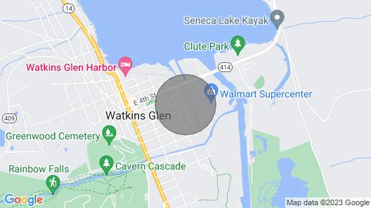 602 Magee Street, Watkins Glen, NY Map