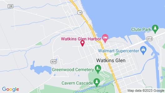 Idlwilde Inn Map