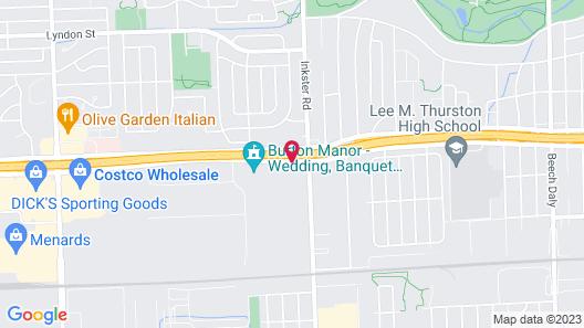 Holiday Inn Express & Suites Detroit Northwest - Livonia, an IHG Hotel Map