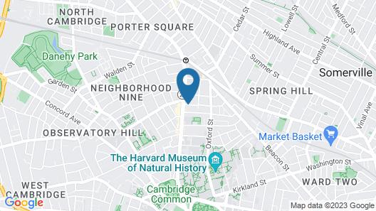 Mary Prentiss Inn Map