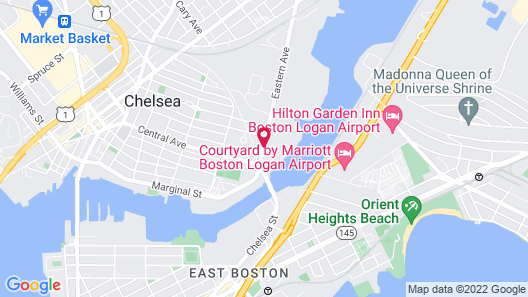 TownePlace Suites Boston Logan Airport/Chelsea Map