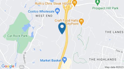 Residence Inn by Marriott Boston Waltham Map