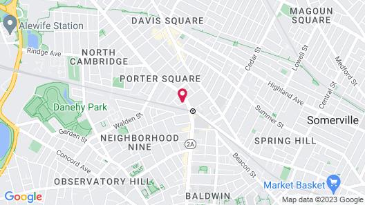 Porter Square Hotel Map