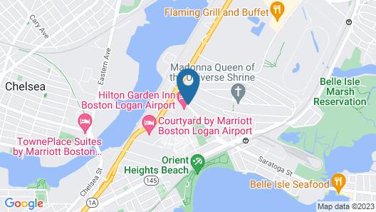 Hilton Garden Inn Boston Logan Airport Map