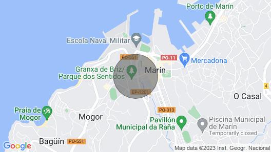 Apartamento Naval en Marín Map