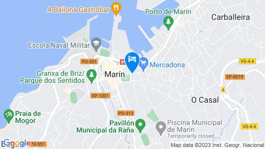 Hotel Villa de Marin Map