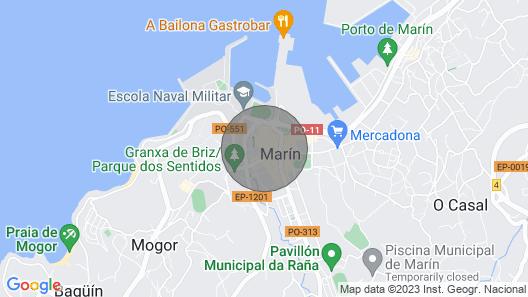 2 Room Apartment Centro DE Marin Map