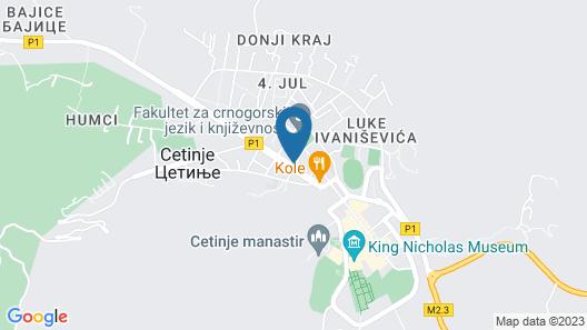 Hotel Dapčević Map
