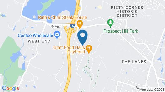 HYATT house Boston/Waltham Map