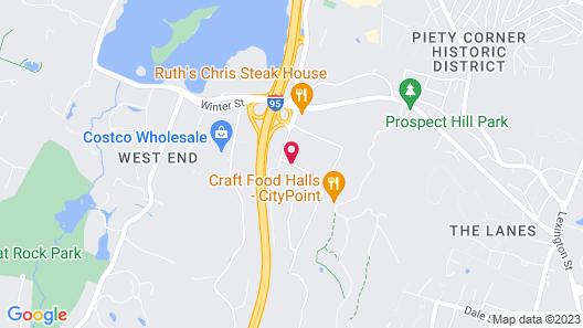 The Westin Waltham-Boston Map
