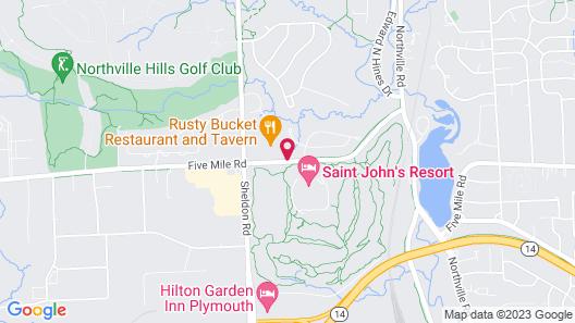 The Inn at St. John's Map