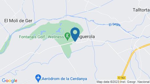 SM Hotel Fontanals Golf Map