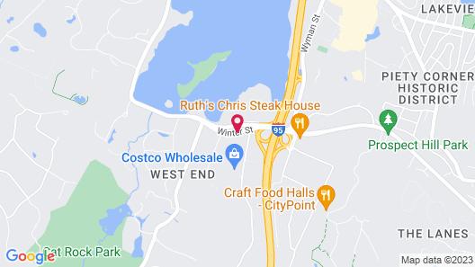 Embassy Suites Boston Waltham Map