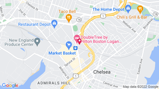 Residence Inn Boston Logan Airport/Chelsea Map