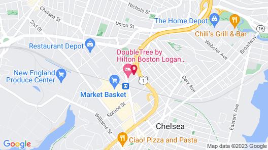 Fairfield Inn & Suites by Marriott Boston Logan Airport/Chelsea Map