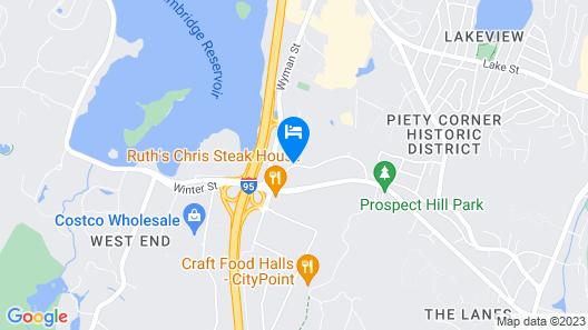 Holiday Inn Express Boston - Waltham, an IHG Hotel Map