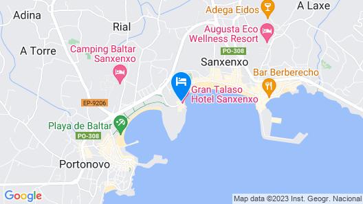 Gran Talaso Hotel Sanxenxo Map