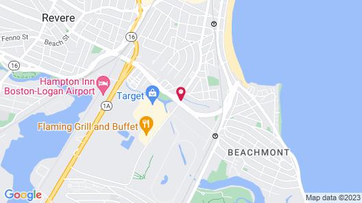 Staybridge Suites Boston Logan Airport - Revere Map