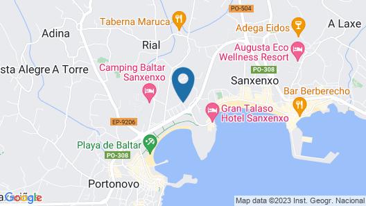 Apartamentos Baltar Map
