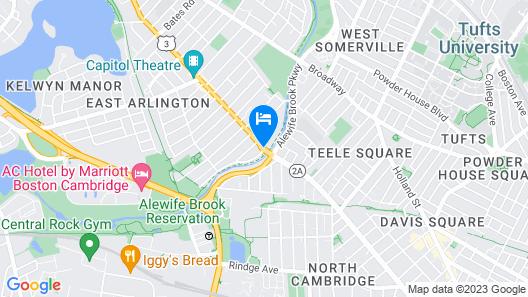 Homewood Suites by Hilton Boston/Cambridge-Arlington, MA Map