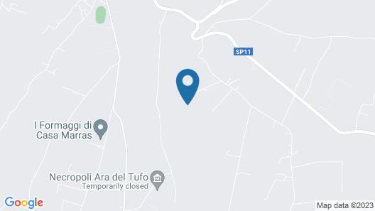 Agriturismo Casa Caponetti Map