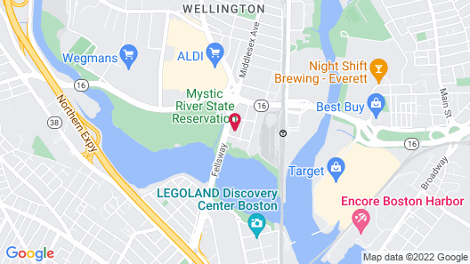 Fairfield Inn & Suites by Marriott Boston Medford Map