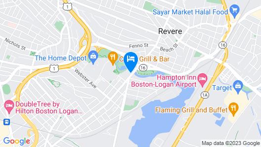 Holiday Inn Boston Logan Airport - Chelsea Map