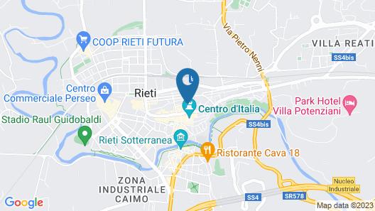 Hotel Miramonti Map