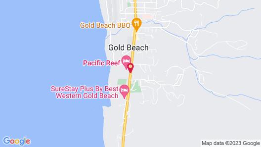 Gold Beach Inn Map