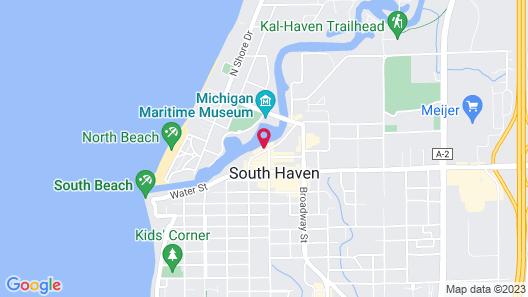 Old Harbor Inn Map