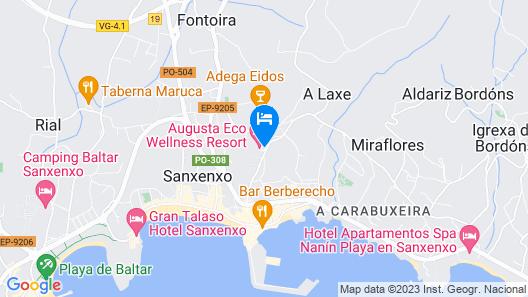 Augusta Eco Wellness Resort  Map