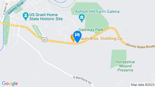 Grant Hills Motel Map