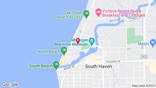 Yelton Manor Bed & Breakfast Map