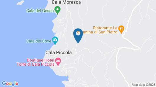 Villino Sabiana Map