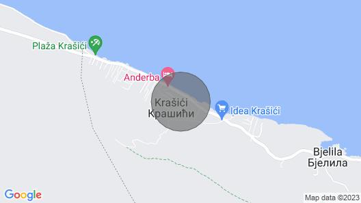 Apartment Dragan - Krasici Map