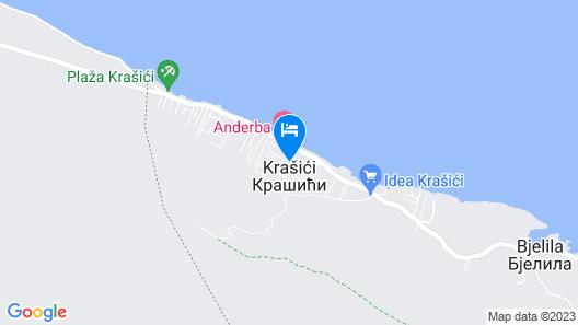Apart Hotel Santorini Map