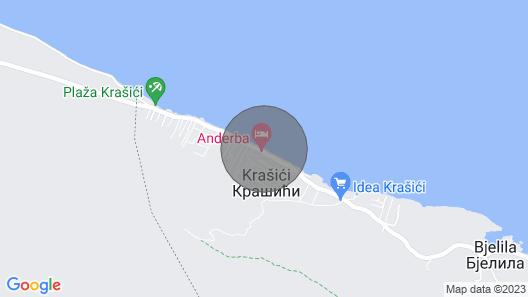 Villa Lustica, Krasici Map