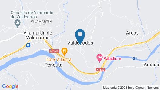 Complejo Hostelero Paladium Map