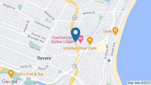 Comfort Inn & Suites Logan International Airport Map