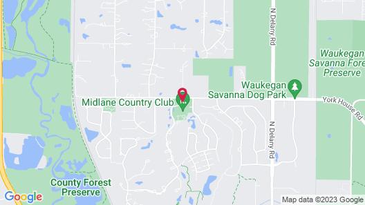 The Lotus Suites at Midlane-Gurnee/Waukegan Map