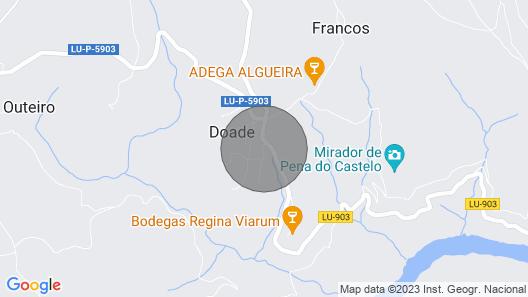 VILA DONATUS TOURIST HOUSE Map