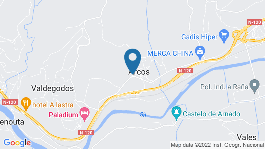 Hotel Calzada Map