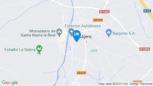 Hostal Hispano Map