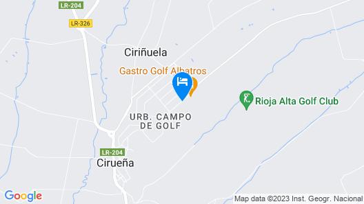 Apartamento Golf Rioja Alta Map