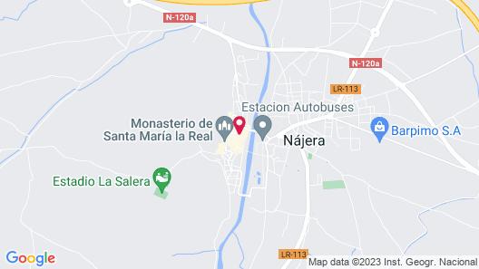 Apartamentos La Rioja Map