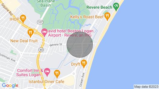 Modern Beachside Space - Near Boston/airport/train Map