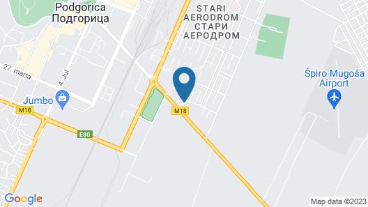 Villa Mikeli Map