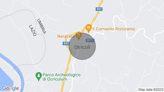 El Olivar - An Amazing Villa in Umbria Map